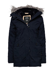 Teddy Lined Parka - NAVY DD