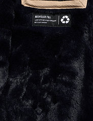 Hollister - Teddy Lined Parka - parki - navy dd - 11