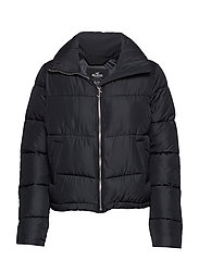 Fashion Puffer Jacket - BLACK DD