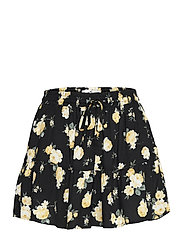 HCo. GIRLS SHORTS - BLACK FLORAL