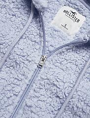 Hollister - HCo. GIRLS SWEATSHIRTS - fleece jassen - light blue - 2