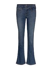 Medium Lr Boot Jeans - TURQ/BLUE PATTERN