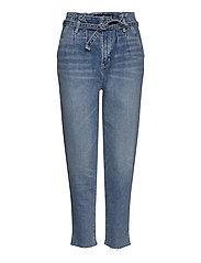 Mom Jeans - LIGHT DESTROY