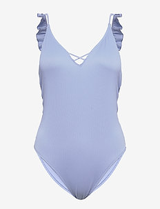 Ruffle One Piece Peri - swimsuits - light blue sd/texture
