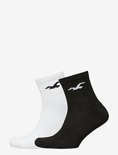 Crew Socks - BLACK DD