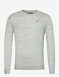 HCo. GUYS SWEATERS - tricots basiques - light grey sd/texture