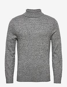 HCo. GUYS SWEATERS - basic knitwear - dark grey sd/texture