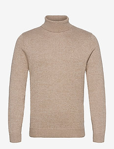 HCo. GUYS SWEATERS - tricots basiques - light brown sd/texture