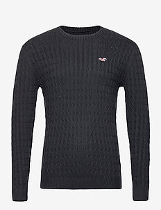 HCo. GUYS SWEATERS - tricots basiques - black dd