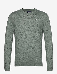 HCo. GUYS SWEATERS - tricots basiques - green sd/texture