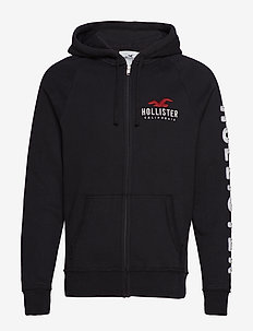 Full Zip Sweatshirt - BLACK DD