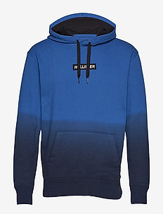 Logo Sweatshirt - NAVY PATTERN