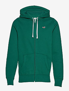 Full Zip Sweatshirt - GREEN DD
