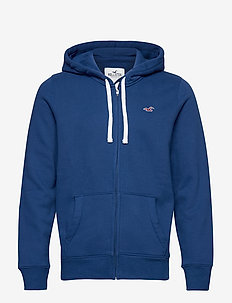 Full Zip Sweatshirt - MED BLUE DD