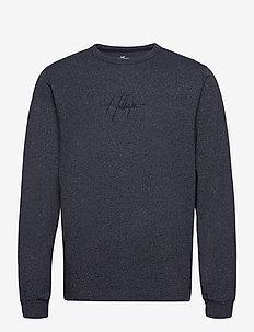 HCo. GUYS GRAPHICS - t-shirts à manches longues - navy