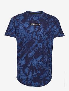 Graphic T-Shirt - NAVY PATTERN