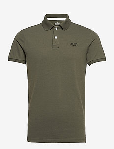 HCo. GUYS KNITS - polos à manches courtes - olive