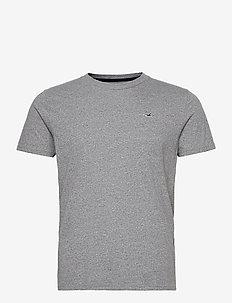 Crew Solids - kortermede t-skjorter - light grey sd/texture