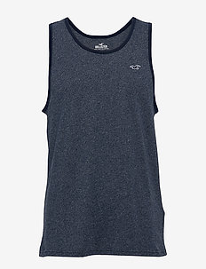 Solid Tanks - NAVY SD/TEXTURE