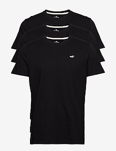 Must-Have Crewneck T-Shirt 3-Pack - BLACK DD