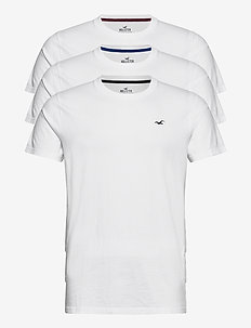 HCo. GUYS KNITS - t-shirts à manches courtes - white/white/white