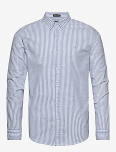 Samo Stripe - oxford-skjortor - light blue stripe