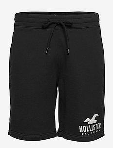 Tech Logo Shorts - casual shorts - black dd