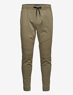 HCo. GUYS PANTS - bottoms - olive skinny jogger