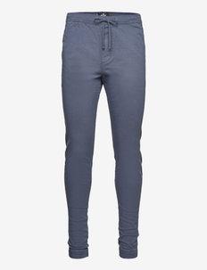 HCo. GUYS PANTS - casual broeken - new navy stacked skinny jogger