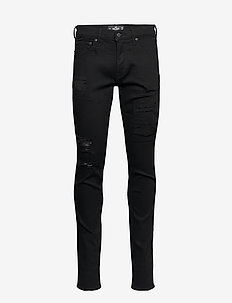 HCo. GUYS JEANS - slim jeans - black destroy