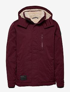 Outerwear - kurtki puchowe - burgundy dd