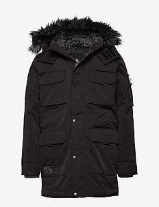 Down Parka - BLACK DD