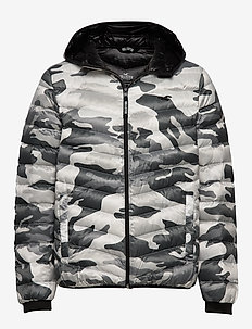 Down Mw Puffer - WHITE PATTERN