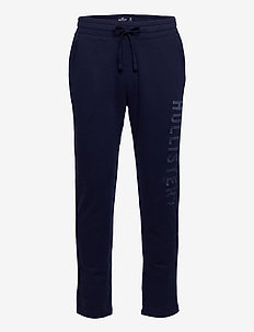 Straight Leg Sweatpants - collegehousut - navy dd