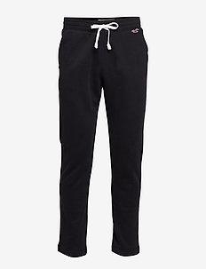 Lightweight Straight-Leg Sweatpants - BLACK DD