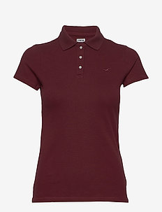 Core Polo - basic t-shirts - burgundy dd