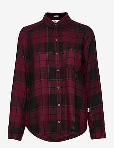 FLANNEL - chemises à manches longues - burg plaid