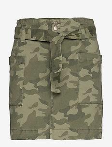 Skirt - spódnice - green camo