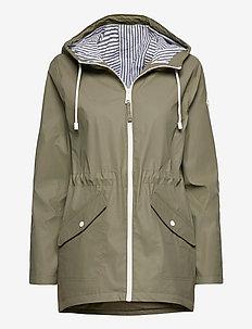 Rain Jacket - regntøj - olive dd