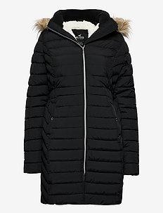 CORE PUFFER PARKA - manteaux d'hiver - black