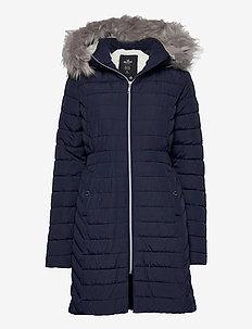 CORE PUFFER PARKA - manteaux d'hiver - navy
