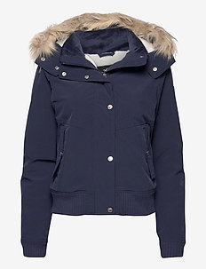 ALL WEATHER BOMBER - bomber jakker - navy