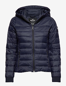 Lightweight Puffer Jacket - NAVY DD