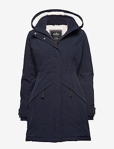 All Weather Midweight Parka - parka coats - navy dd