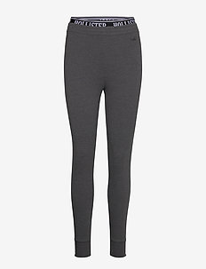 Chain Logo Flegging - leggings - dark grey sd/texture