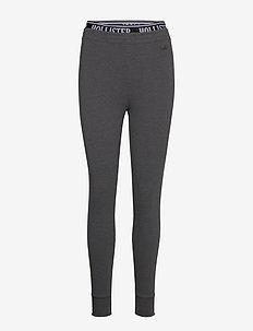 Chain Logo Flegging - leggings - dark grey sd/texture