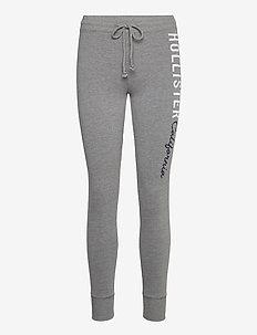 HCo. GIRLS KNIT BOTTOMS - sweatpants - medium grey