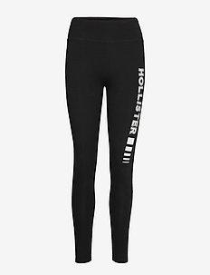 Graphic Legging - BLACK DD