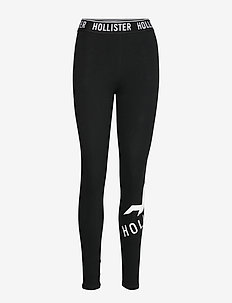 Logo Wb Graphic Legging - BLACK DD