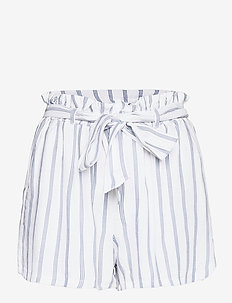 HCo. GIRLS SHORTS - paper bag -shortsit - white floral